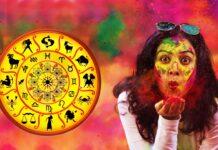 Holi According to Zodiac