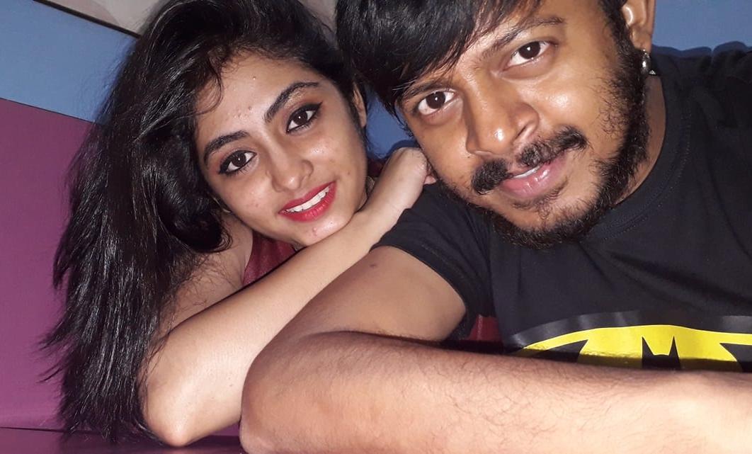 Krishnakoli Shyama, Tiyasha Roy and Her Husband HD Photo