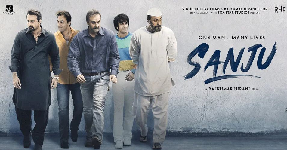 Sanju Film Poster