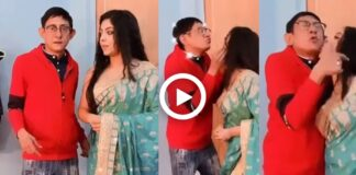 Kanchan Mullick and Sreemoyee Dancing on Tumpa Sona