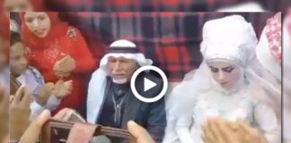 Man marries 37th time in front of 28 wives, 35 children and 126 grandchildren - Watch Viral Video