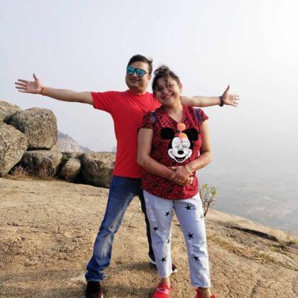 Biswanath Basu Wife Debika Basu