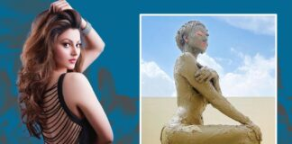 Urvashi Rautela took a mud bath at a cost of Rs 20,000