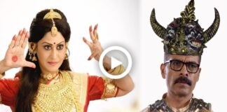 Shreemoyee Actress Indrani Haldar as Durga and Anindya as Asur Viral on Social Media