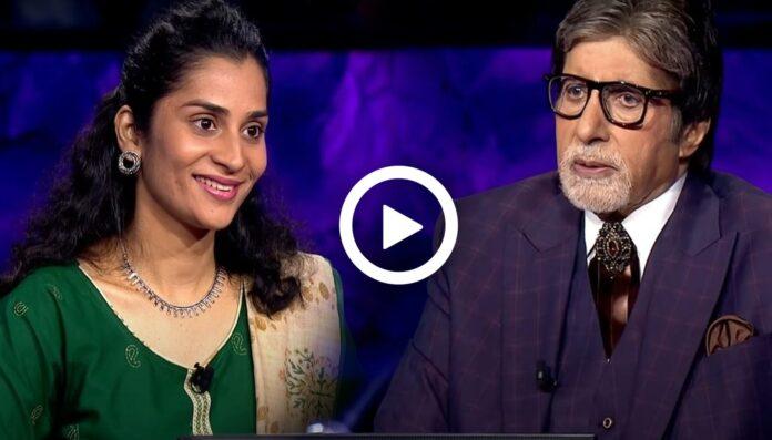Amitabh Bachchan`s Personal Bodyguard`s Daughter Rashmi Kadam is on KBC