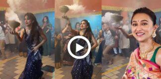 Mimi Chakraborty Dhunuchi Naach Viral Video