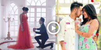 Pawandeep goes down on knees for Arunita