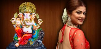 Srabanti Chatterjee Trolled for Posting Picture with Ganesh Idol wearing Sandle